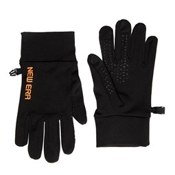New Era Electronic Touch Black Gloves