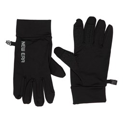 New Era Electronic Touch Grey Logo Gloves