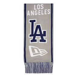 Los Angeles Dodgers Grey Scarf