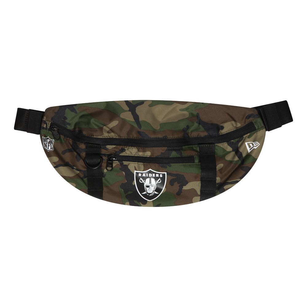Marsupio nero degli Oakland Raiders