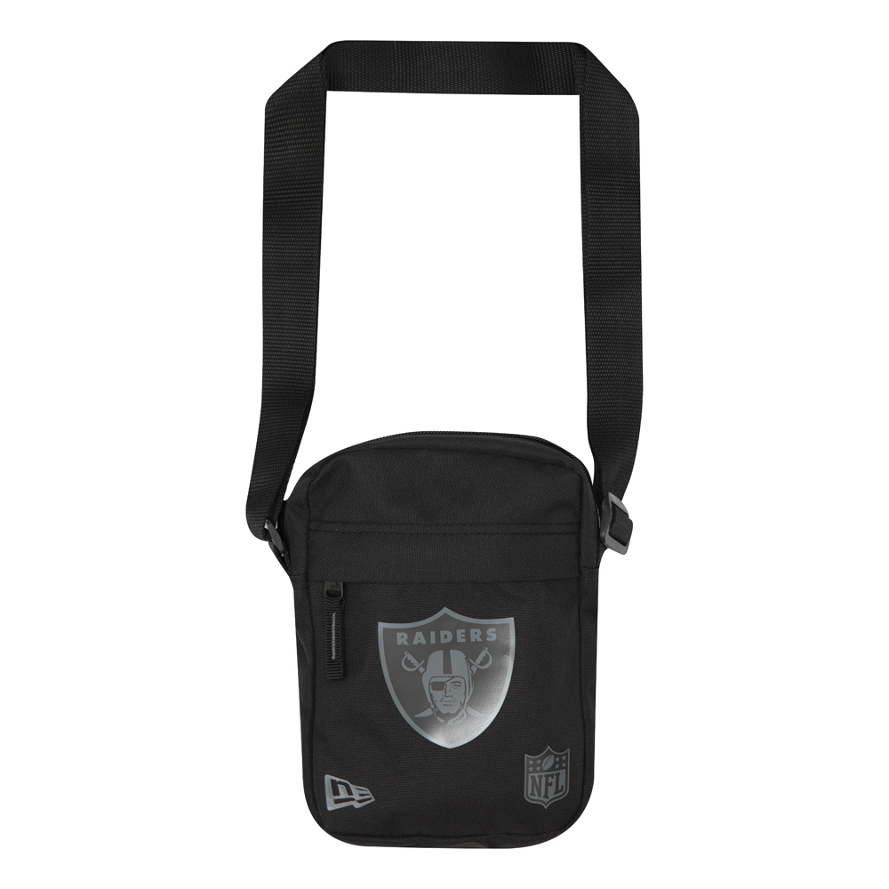 Oakland Raiders Logo Black Side Bag
