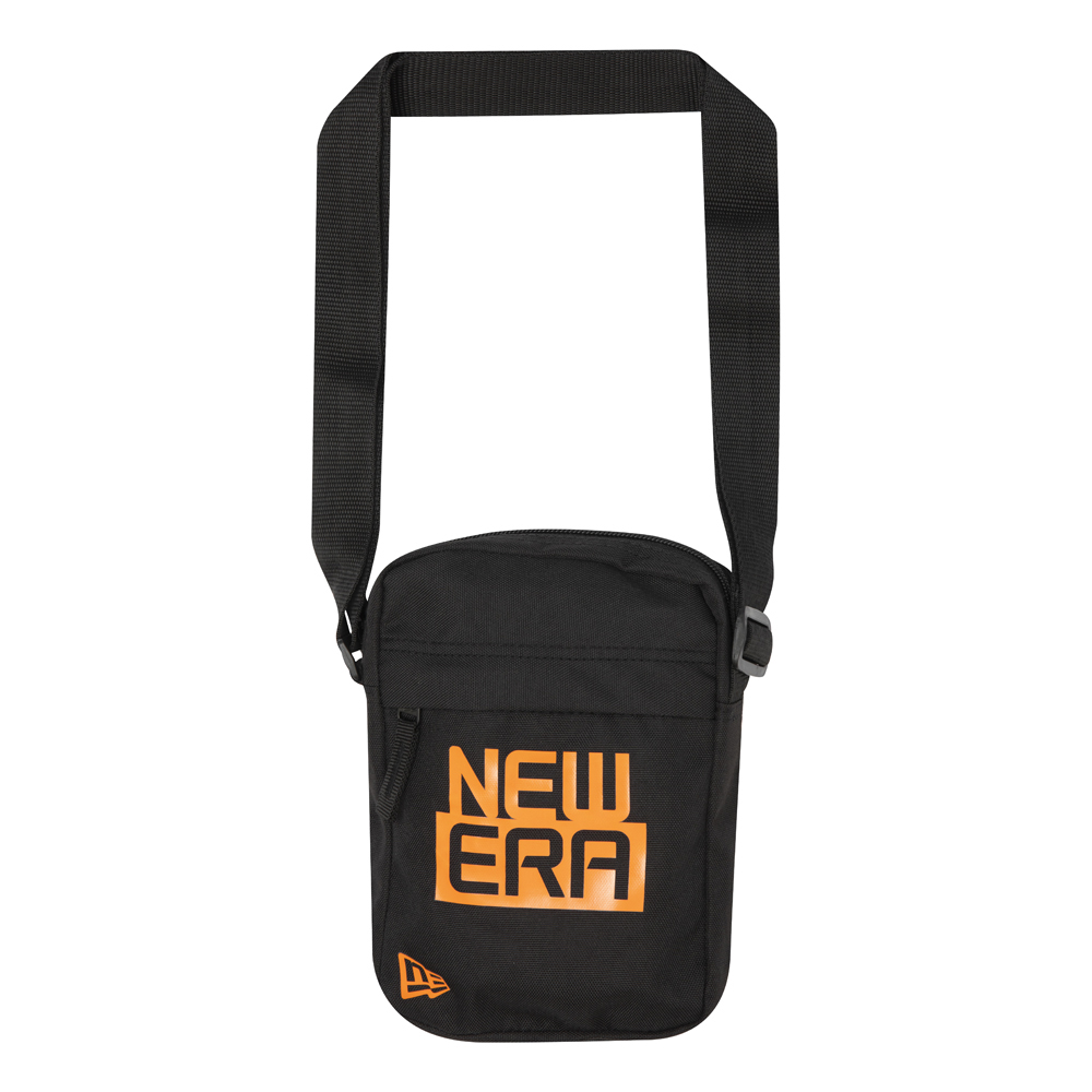 Bandolera rectangular New Era, logotipo naranja
