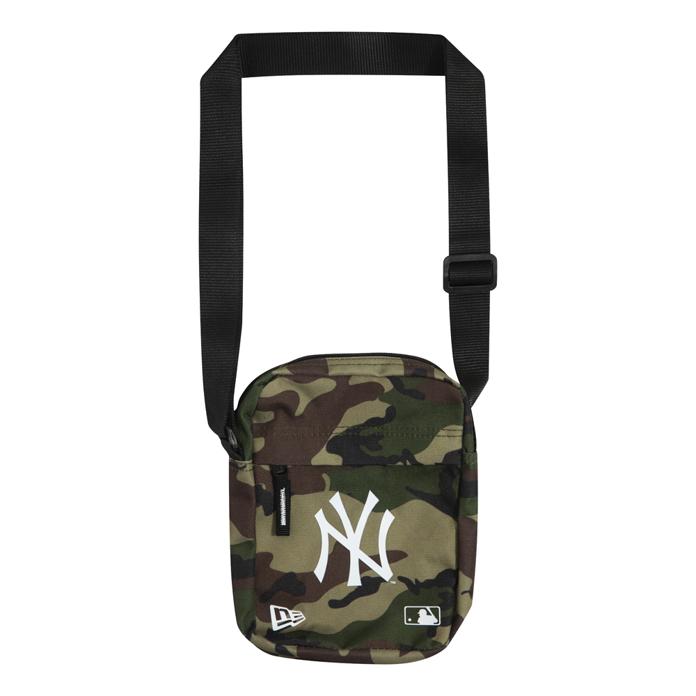 New York Yankees Camo Side Bag