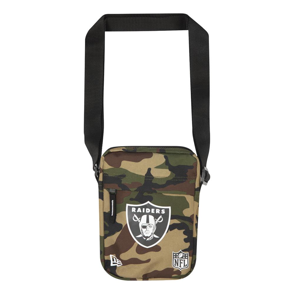 Umhängetasche mit Oakland Raiders Logo in Camouflage