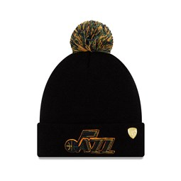 Donovan Mitchell Utah Jazz Black Bobble Knit