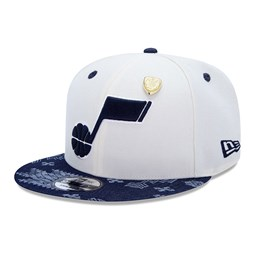 9FIFTY-Kappe – Donovan Mitchell – Utah Jazz – Detail in Chrome