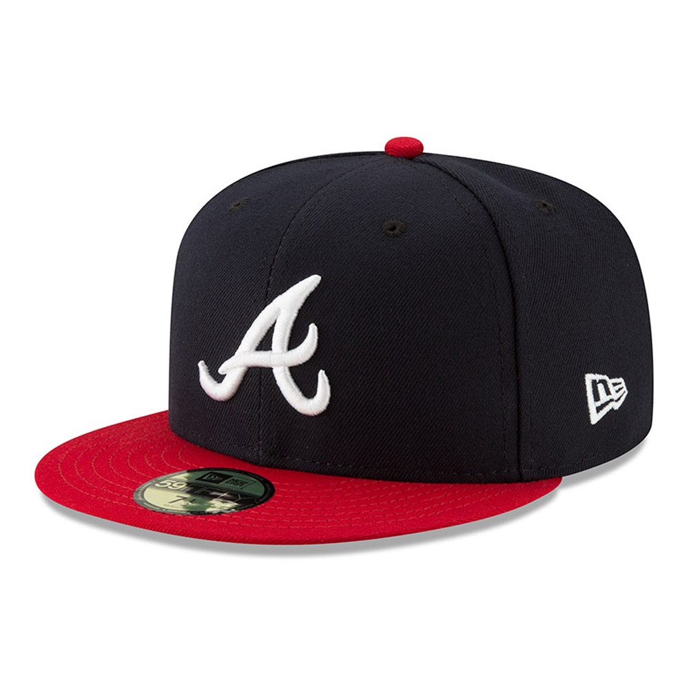 buy popular db52d 9c88d Atlanta Braves Authentic On-Field Home 59FIFTY