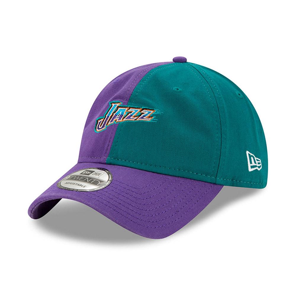 Cappellino 9TWENTY Hard Wood Classic con colori divisi degli Utah Jazz