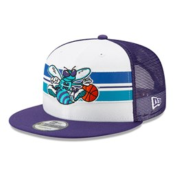 Casquette 9FIFTY Snapback Hard Wood Classic Charlotte Hornets violette