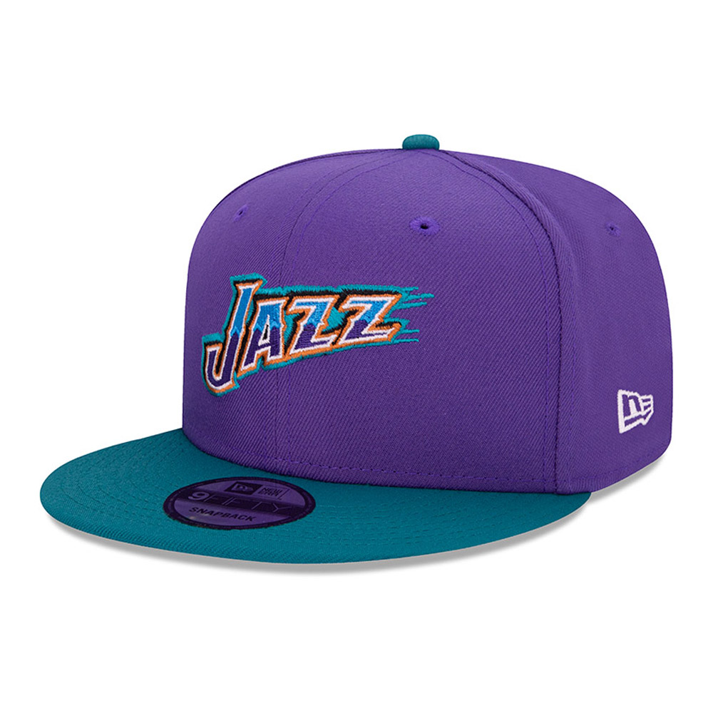 Casquette 9FIFTY Hard Wood Classic Utah Jazz violet
