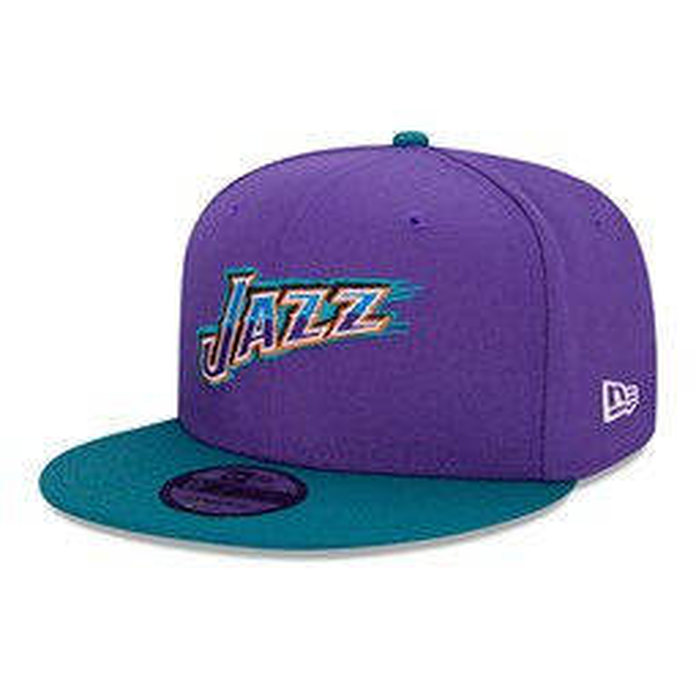 Gorra Utah Jazz Hard Wood Classic 9FIFTY, morado