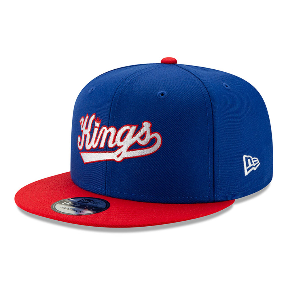Sacramento Kings – Blaue Hard Wood Classic 9FIFTY-Kappe