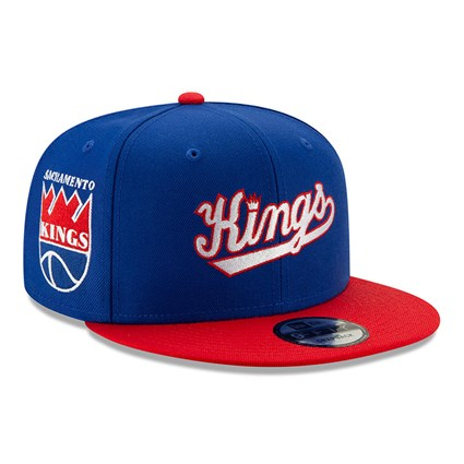 Sacramento Kings Blue Hard Wood Classic 9FIFTY Cap