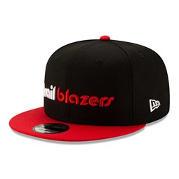 Gorra Portland Trailblazers Hard Wood Classic 9FIFTY, negro