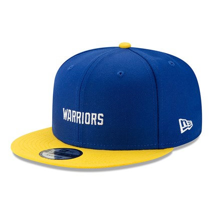 Golden State Warriors Blue Hard Wood Classic 9FIFTY Cap