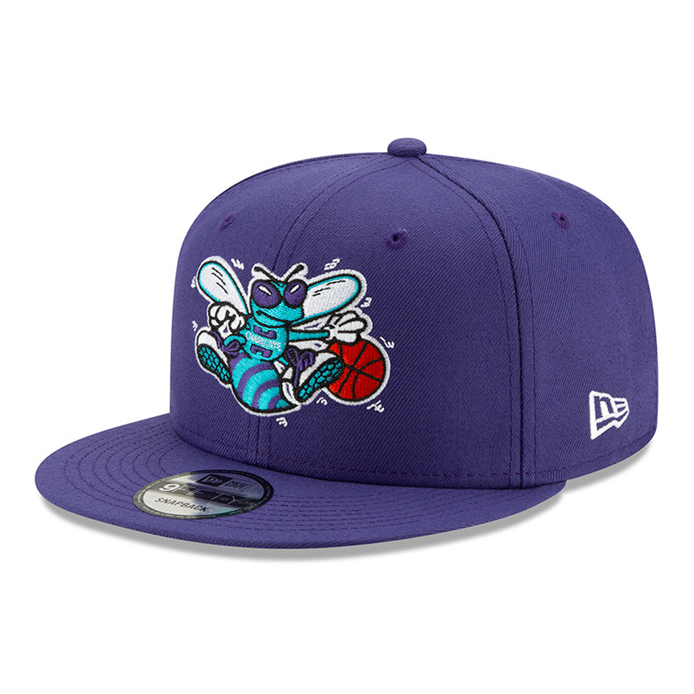Casquette 9FIFTY Hard Wood Classic Charlotte Hornets