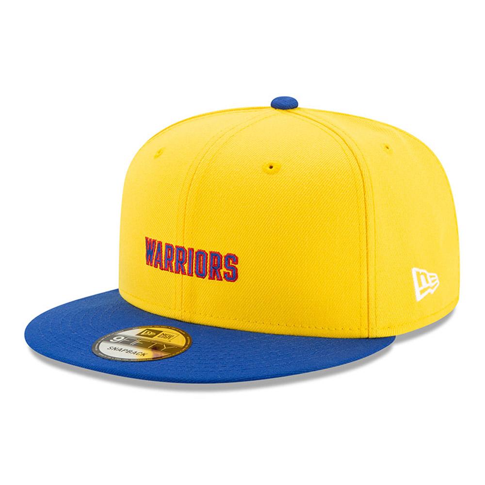 Klassische Hard Wood {[#1]}FIFTY-Kappe der Golden State Warriors