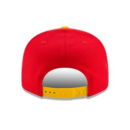 Casquette 9FIFTY Hard Wood Classic rouge des Rockets de Houston