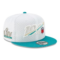NFL 54th Super Bowl White Mesh 9FIFTY Cap