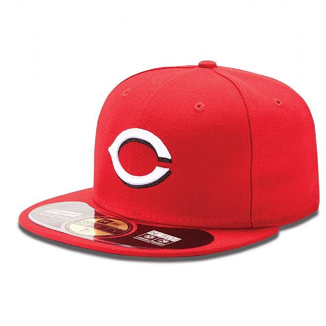 Casquette 59FIFTY On-Field Home Authentic des Reds de Cincinnati