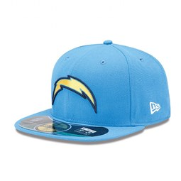 San Diego Chargers Authentic On-Field 59FIFTY Cap