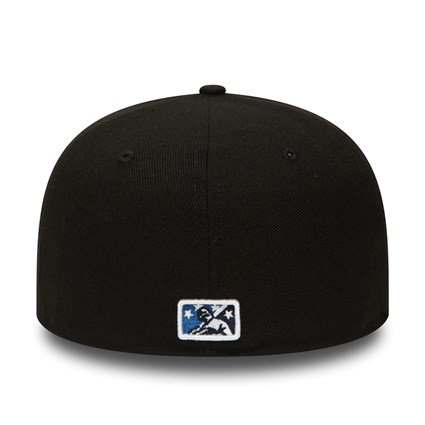 Asheville Tourists Black 59FIFTY Cap