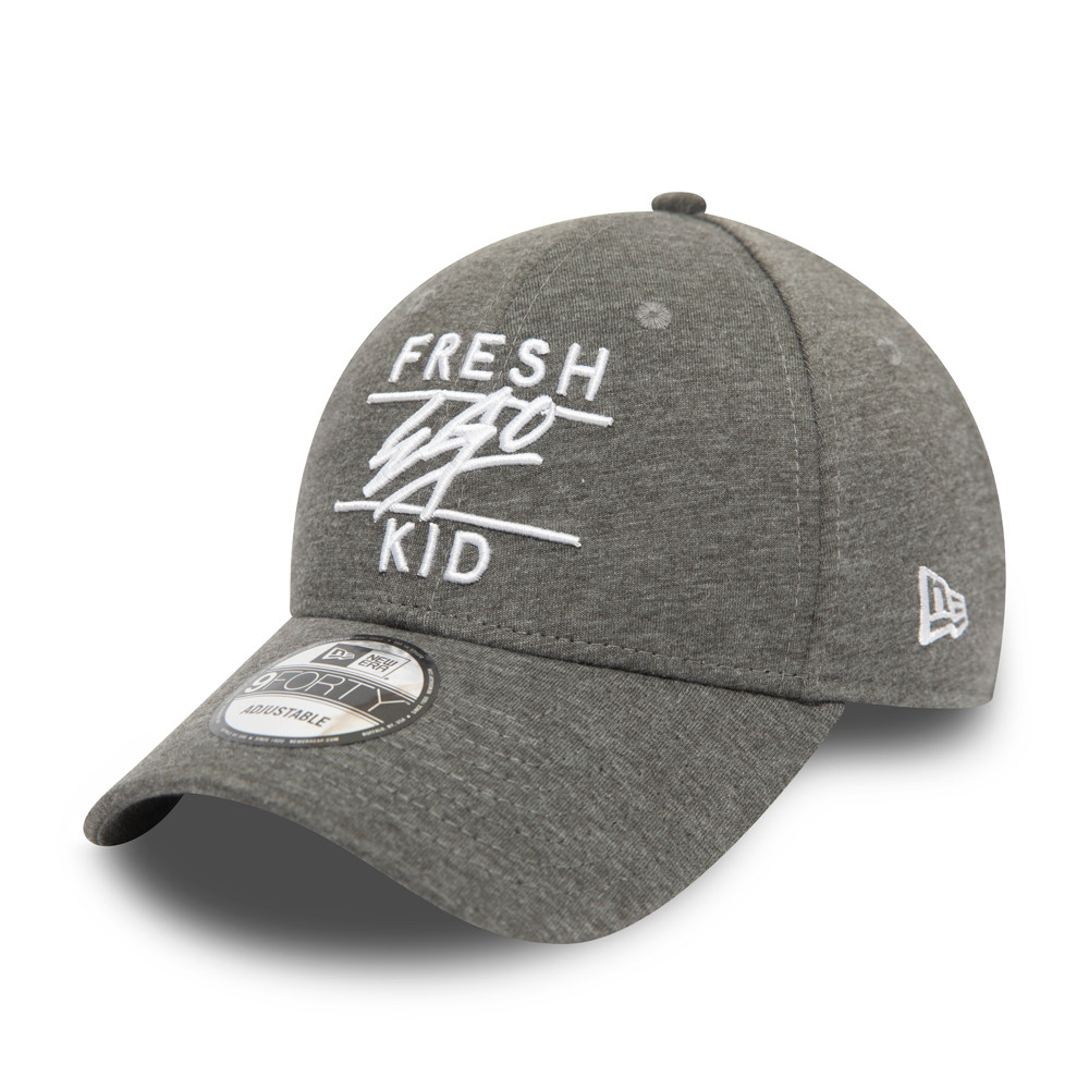 Fresh Ego Kid – 9FORTY Kappe in Heidegrau