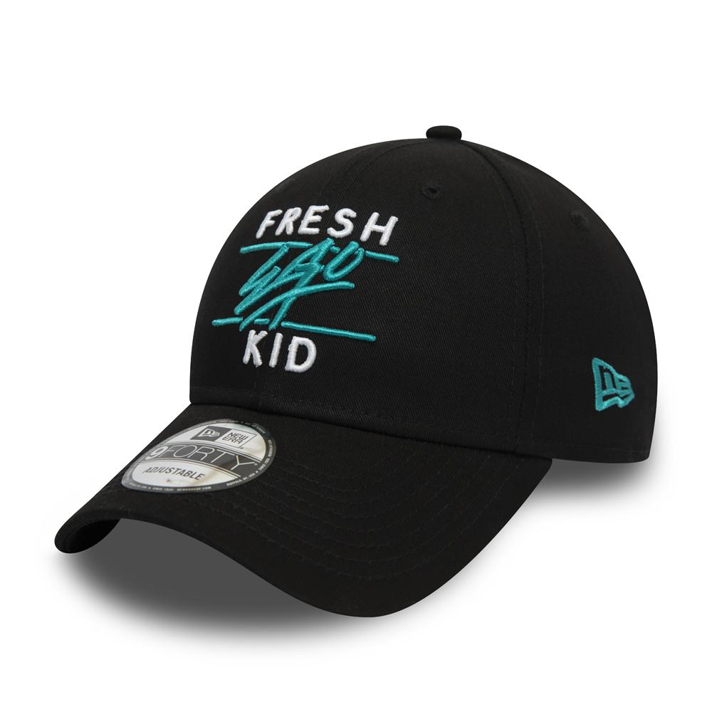 Schwarze 9FORTY-Kappe von Fresh Ego Kid