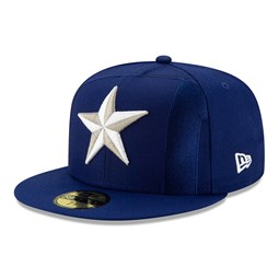 Element Logo 59FIFTY-Kappe der Texas Rangers