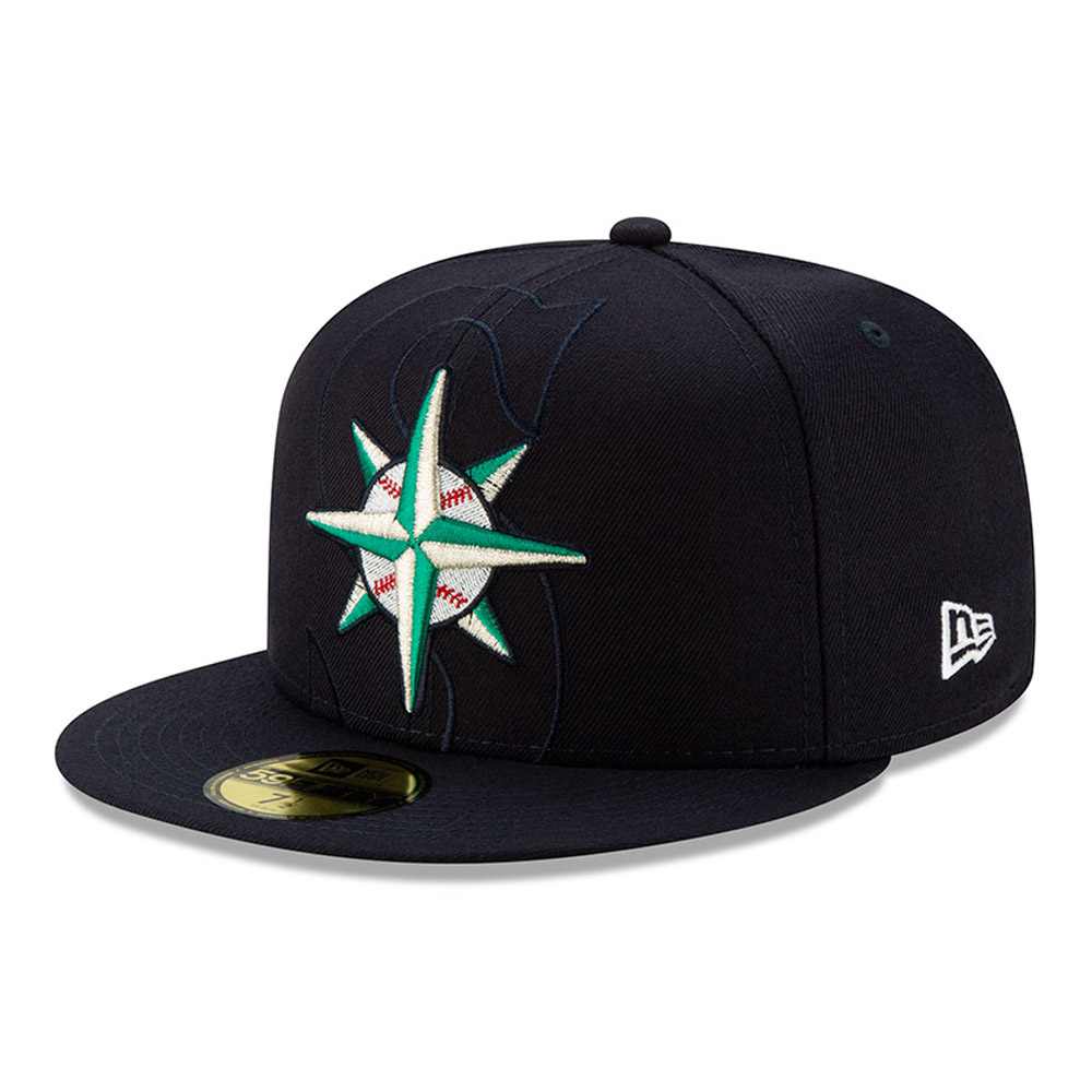 Cappellino 59FIFTY Seattle Mariners Element Logo