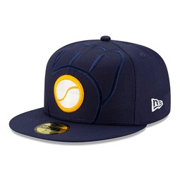 Cappellino Milwaukee Brewers Element Logo 59FIFTY