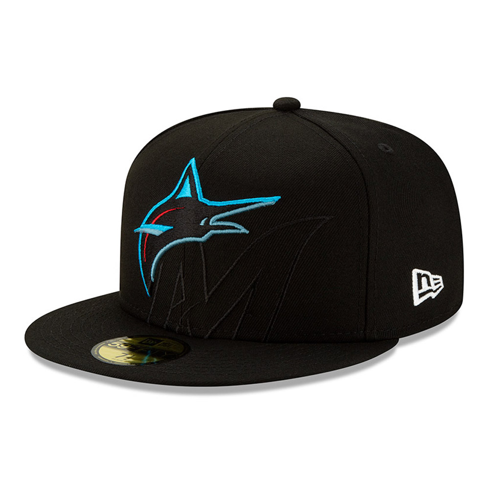 Miami Marlins Element Logo 59FIFTY Cap