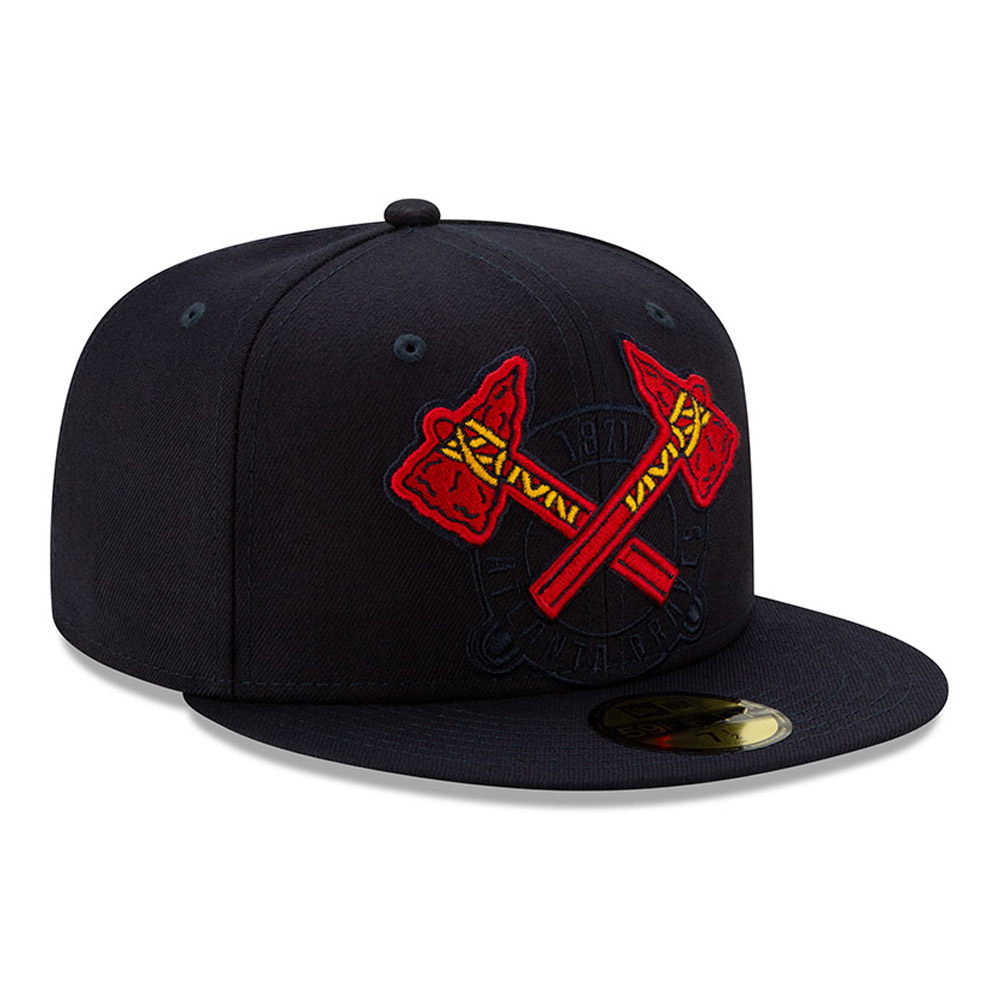 Atlanta Braves Element Logo 59FIFTY Cap