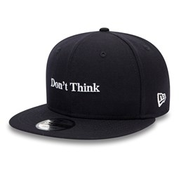 Gorra Bruce Lee Don't Think 9FIFTY, azul marino