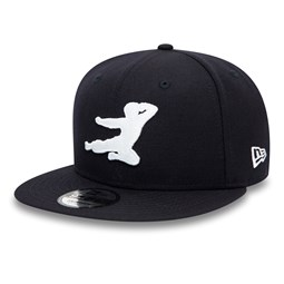 Gorra Bruce Lee Shadow 9FIFTY, azul marino