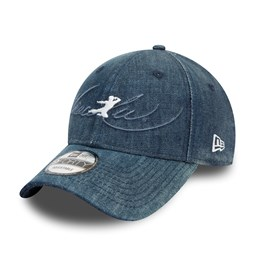 Gorra Bruce Lee 9FORTY, denim azul