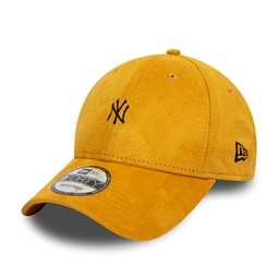 New York Yankees Suede Mustard 9FORTY Cap