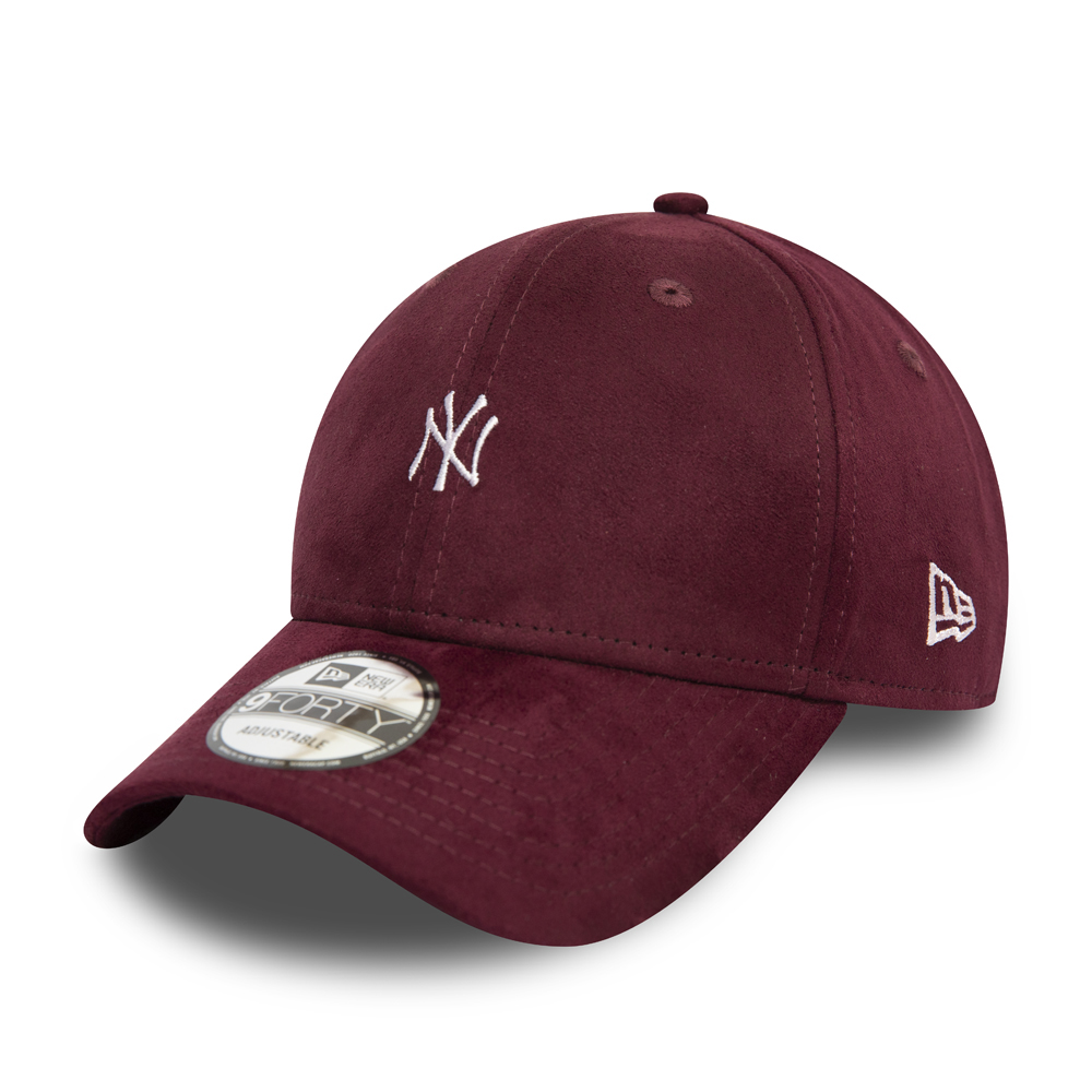 New York Yankees Suede Red 9FORTY Cap
