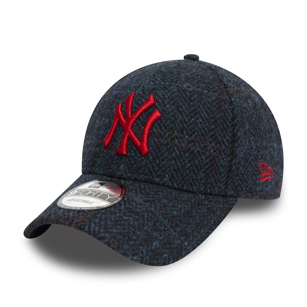 New York Yankees – Marineblaue Tweed 9FORTY-Kappe