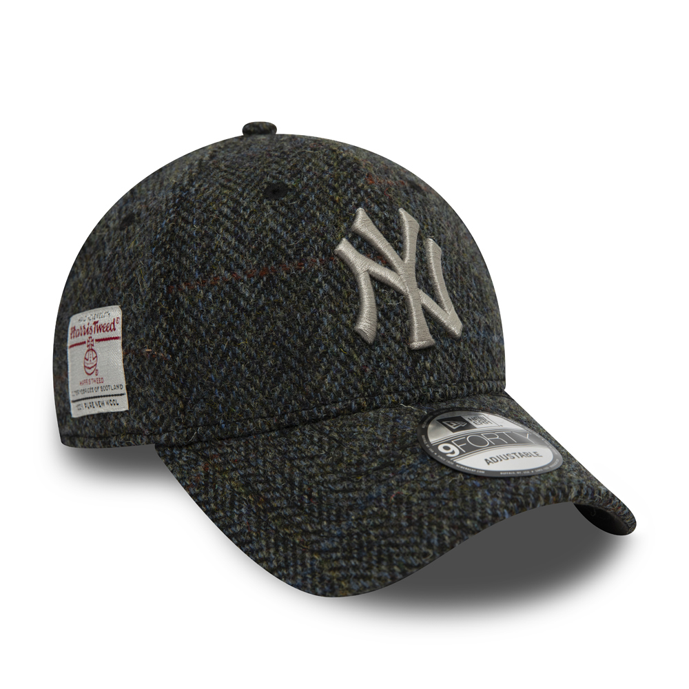 Cappellino 9FORTY in tweed dei New York Yankees grigio
