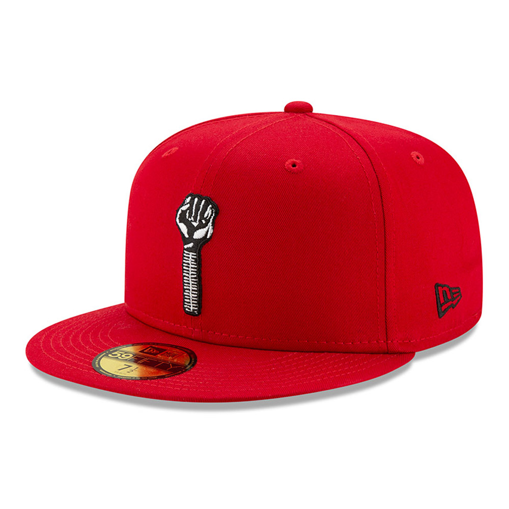 Tyshawn Jones Hardies Red 59FIFTY Cap