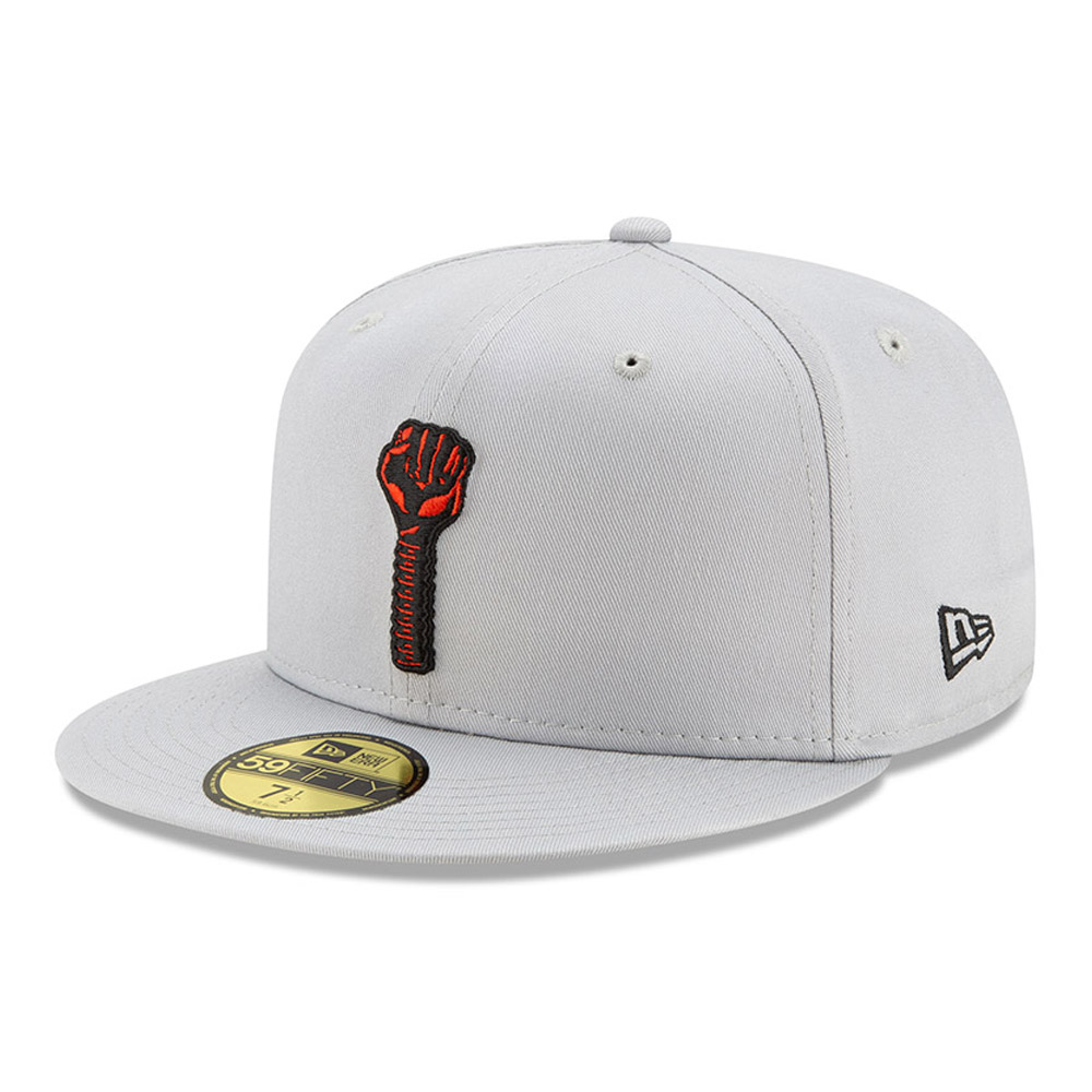 Tyshawn Jones Hardies Grey 59FIFTY Cap