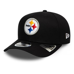Gorra Pittsburgh Steelers Stretch Snap 9FIFTY, negro