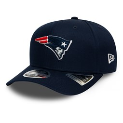 Gorra New England Patriots Stretch Snap 9FIFTY, azul marino