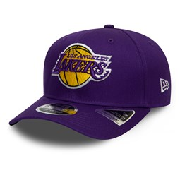 Los Angeles Lakers – Lila 9FIFTY-Kappe-Stretchkappe mit Clipverschluss
