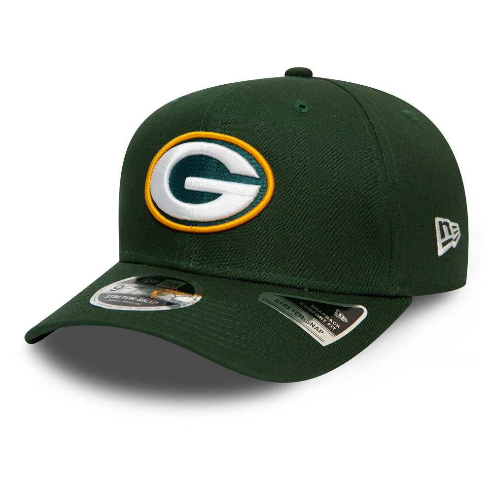 Green Bay Packers – Grüne 9FIFTY-Stretchkappe mit Clipverschluss