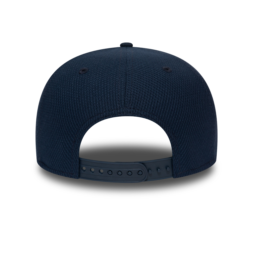 Seattle Seahawks Outline Navy 9FIFTY Snapback Cap
