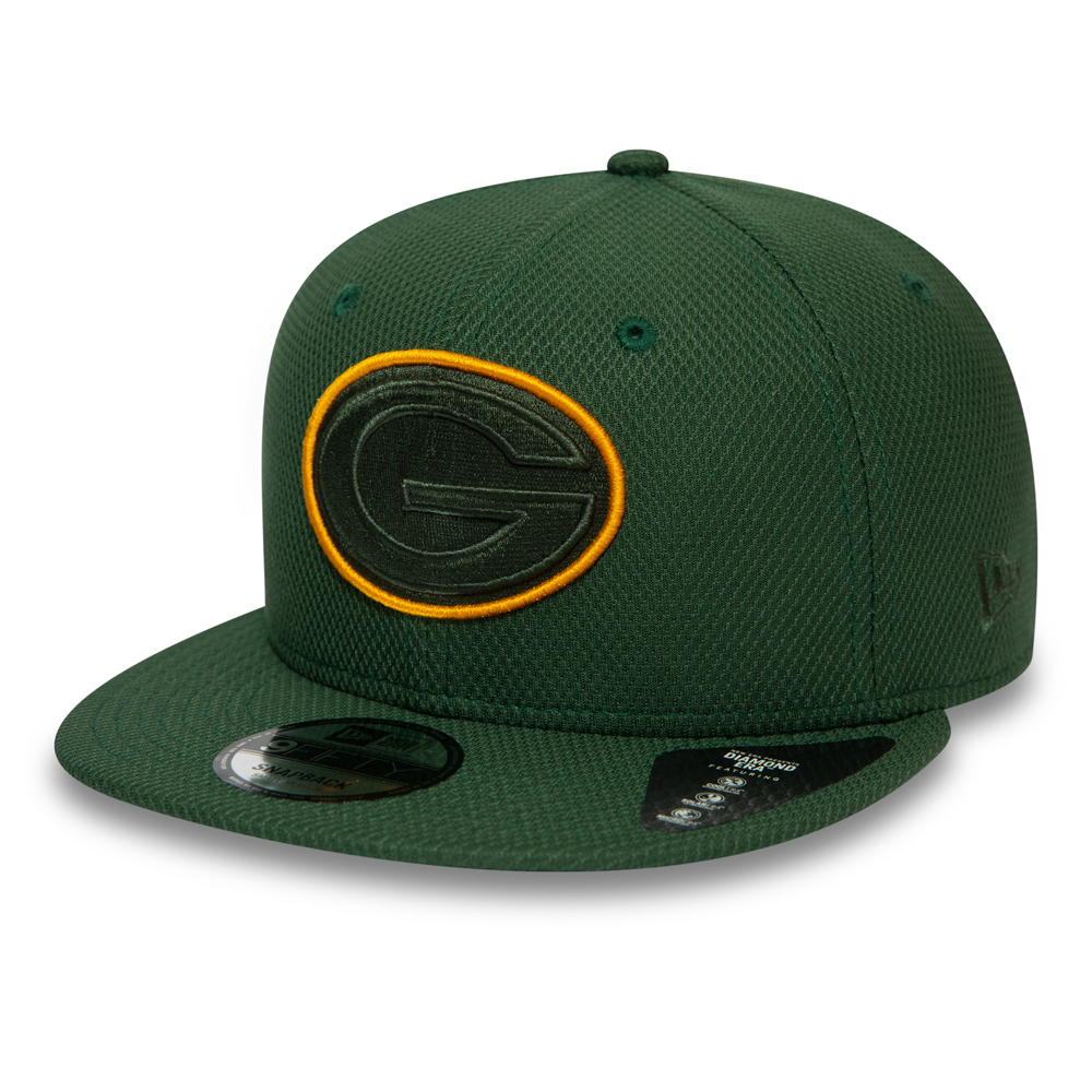Cappellino 9FIFTY con chiusura posteriore Outline dei Green Bay Packers verde
