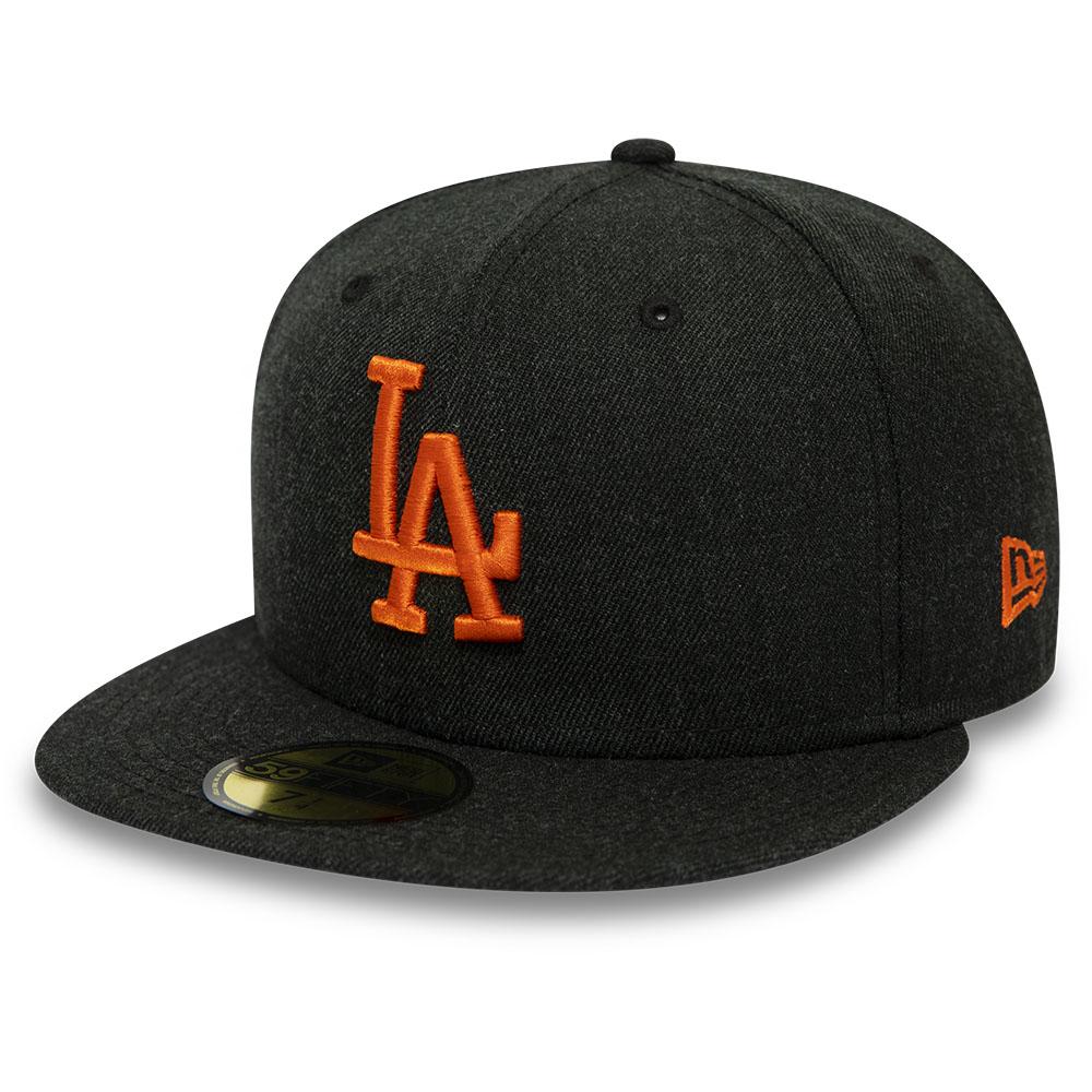Los Angeles Dodgers – Schwarze 59FIFTY-Kappe