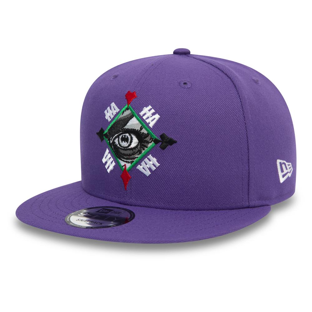 Casquette 9FIFTY The Joker Eye violette